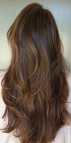 Beautiful color...Brunette Balayage Babylights. Emerald Forest with Sapayul for healthy, beautiful hair. Sulfate free shampoo products. shop at www.emeraldforestusa.com
