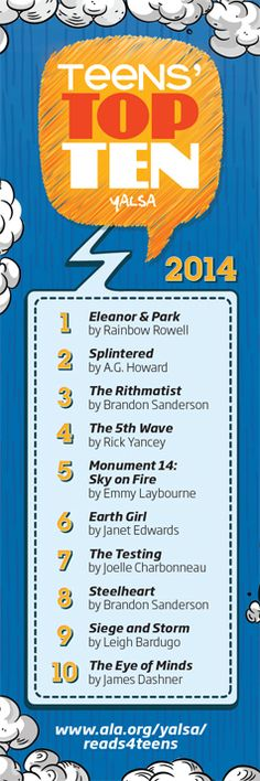 "TEENS"" TOP TEN 2014"