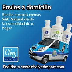 Pide nuestras #Cremas a domicilio a ventas@clyesimport.com. Anímate a probar nuestras cremas para lucir una #PielMásSuave