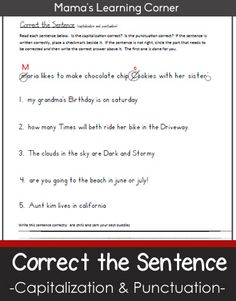 essay correction quiz