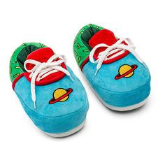 Rugrats Chuckie Plush Sneaker Slippers - L-XL Rugrats, 1st Birthday Boy Themes, Baby Slippers, Painted Shoes, Stylish Kids, Plush Dolls, Things To Buy, Boy Outfits, Baby Shoes