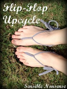 Up-cycle your old flip-flops into something awesome!