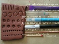 New Craft Clay Stamps Ideas Polymer Clay Kunst, Polymer Clay Tools, Polymer Clay Projects, Polymer Clay Creations, Diy Clay, Polymer Clay Jewelry, Clay Stamps, Ceramic Tools, Clay Texture