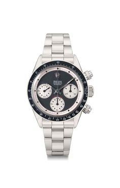 """Rolex Cosmograph Oyster """"R.C.O.""""  King of Paul Newman's.   Sold at Christies for: $1,089.186."""
