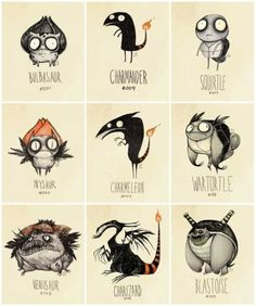 Pokemon Meets Tim Burton! (Sorta) [Picture]