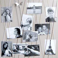 Pour afficher les plus belles photos de la famille ! Pêle-mêle multivues Farandole - Bruit de cadre