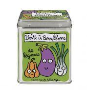 Boites à bouillons (de légumes)  http://www.deco-et-saveurs.com/3107-boite-bouillons-de-legumes-verte-derriere-la-porte.html