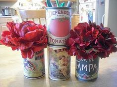 free vintage can labels