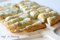 Garlic Butter Breadsticks, #Butter, #Garlic, #Mozzarella