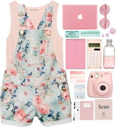 """On Fridays we wear pink"" by tofulover on Polyvore"
