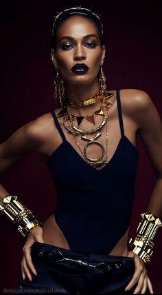pinterest.com/fra411 #black #beauty - Joans Smalls Heavy metals ❤