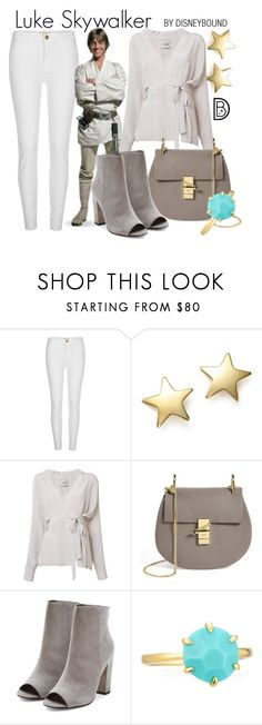"""Luke Skywalker"" by leslieakay ❤ liked on Polyvore featuring River Island, Bloomingdale's, Rachel Comey, Chloé, Ippolita, disney, disneybound and disneycharacter"