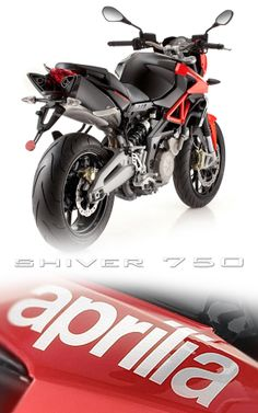 Aprilia Shiver 750!  This is a sweet naked bike!