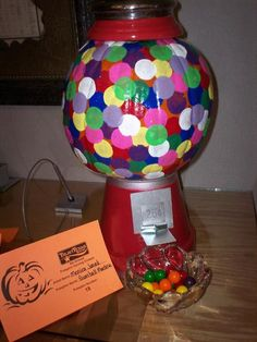 gumball machine pumpkin [happy halloween - 2014! jh]