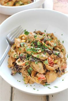 Chicken Taco Pasta by bevcooks #Pasta #Chicken #Taco