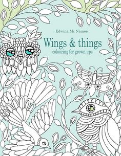 Wings Things Coloring Book For Adults