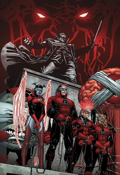 RED LANTERNS #26 Written by CHARLES SOULE Art and cover by ALESSANDRO VITTI 1:25 B&W Variant cover by ALESSANDRO VITTI