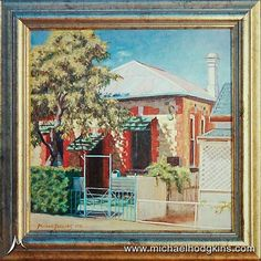 "LOOKING BACK | Painted this gorgeous little cottage in York back in 1998. Don't remember the exact size but it was around 6"" - 8"" square I think. Quite small with a lot of detail in it. I have painted quite a few character buildings around the Western Australian town of York over the years. #landscapeart #oiloncanvas #landscapepainting #artist #oilpainting #australianlandscape #australianlandscapepainting"