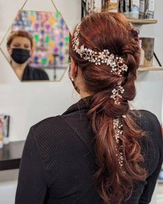 Wedding hair updo wedding style Wedding Updo, Wedding Hairstyles, Brand Board, Hair Updo, Updos, Wedding Styles, Inspiration, Fashion, Up Dos