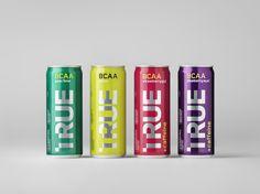 TRUE Energy Drinks — The Dieline - Branding & Packaging Design