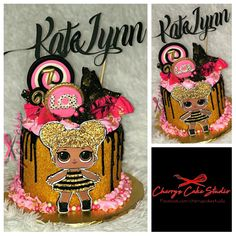 Queen Bee Lol Surprise Dolls Birthday Cake Lol Surprise