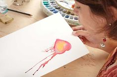 Watercolor painting ideas | Gina Rossi Armfield