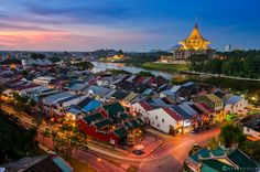 Photograph Kuching Skyline by Abang Faizul on 500px