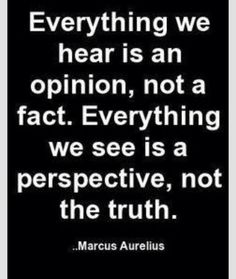 Nothing you say is fact just your opinion and you don't matter and that is the truth and your perspective doesn't matter either so give up already! It's over with move on already!