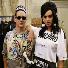 Jeremy Scott and Katy Perry  - This Week in Parties: 15 June | Harper's Bazaar