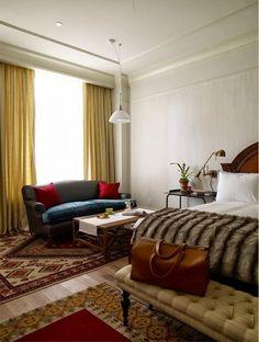 我們看到了。我們是生活@家。: 紐約The Greenwich Hotel,2008年開業