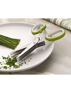Herb Scissors - I usually use scissors to cut up fresh herbs into my cooking anyway but these look far more efficient!