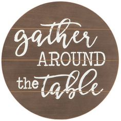 Hobby Lobby Gallery wall - Gather Around The Table Wood Wall Decor. Hobbies To Try, Hobbies That Make Money, Rc Hobbies, Wall Decor Quotes, Wood Wall Decor, Unusual Hobbies, Hobby Lobby Christmas, Kitchen Table Makeover, Simple Signs