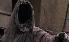 Ghost of Christmas Yet to Come, from Muppet Christmas Carol. THE most terrifying thing from my childhood.