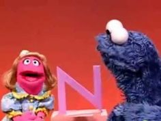 Sesame Street Cookie's Letter of the Day N