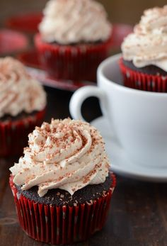 Mexican Hot Chocolate Cupcakes!