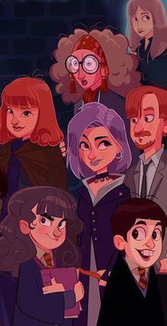 Si Harry Potter avait droit à sa série animée 08