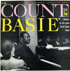 "Count Basie Classics   Label: Columbia 754   12"" LP 1951   Photo: Bernard Cole"