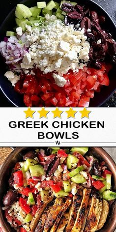 Recipes Breakfast For One Prep Time : 15 minutes Greek Recipes, New Recipes, Salad Recipes, Cooking Recipes, Healthy Recipes, Dinner Recipes, Mango Salat, Clean Eating, Healthy Eating