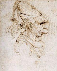 da Vinci, Caricature