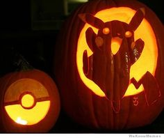 10 Amazing Pokemon Pumpkin Carvings | WeKnowMemes