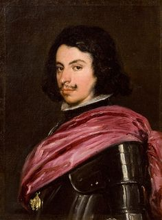Duke Francesco d'Este, by Velázquez Diego
