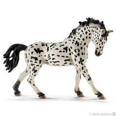 schleich horse 2015 13769 - Knabstrupper mare - New Product Farm Life January ... Horse Farms, Horse Pictures, Toy Store, Mare Horse, Breyer Horses, Cat Clock, Horses For Sale, Horse Sculpture, Plastic Animals