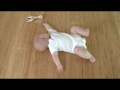 Great video of baby learning to roll over. @Amanda Howard this made me think of B!!! :)