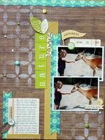 A Project by MelBlackburn from our Scrapbooking Gallery originally submitted 02/16/12 at 08:41 PM