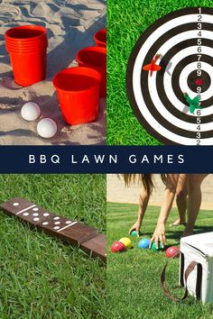 The Best Summer BBQ Games for Adults - Peachy Party Cowboy Party Games, Bbq Party Games, Bbq Games, Summer Party Games, Backyard Party Games, Camping Games Kids, Outdoor Party Games, Adult Party Games, Lawn Games