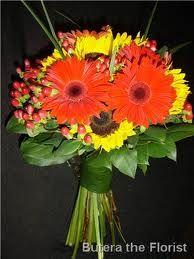 Gerber Daisy and Sunflower Bouquet