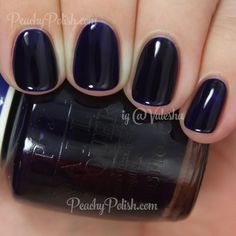 OPI Indigo Motif | Color Paints Collection | Peachy Polish www.ScarlettAvery.com