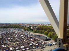 View of Munich - Ferris wheel- 4/16/16