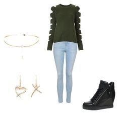 """""""Random outfit 46"""" by katmccreery ❤ liked on Polyvore featuring Topshop, ZoÃ« Jordan, Ash and Stephen Webster"""
