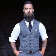 beardbrand: theuntolddeath photographed by Noel McGrath Photography, hair cut and styled by @djkjr of @pugslybarbershop *** Mighty handsome indeed